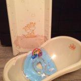 Ванночка и пеленальная доска. Фото 1.