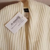 Пуловер белый новый 42-44. Фото 1.
