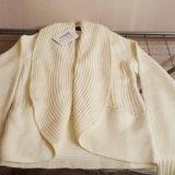 Пуловер белый новый 42-44. Фото 2.