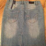 Юбка джинсовая новая. Фото 1.