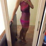 Очень крутое платье новое с этикеткой из китая. Фото 2.