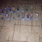 21 оловянных солдатиков. Фото 1.