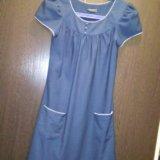Платье, синее платье, вечернее платье. Фото 1. Казань.
