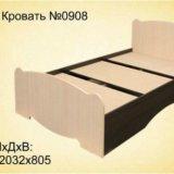 Односпальная кровать. Фото 1. Омск.
