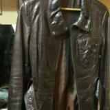 Куртка кожаная(натуральная) женская. Фото 3. Москва.