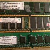 Модуль памяти ddr 512мв pc-3200 400mhz. Фото 1.