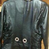 Куртка кожаная(натуральная) женская. Фото 1. Москва.