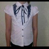 Блузка школьная. Фото 1. Светлый.