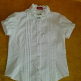 Белые блузки, размер 122. Фото 1. Тюмень.