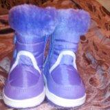 Зимние сапожки. Фото 1. Сургут.