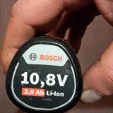Аккумулятор на bosch 2a. Фото 1.