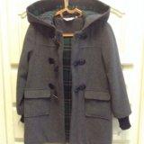 Стильное пальто на мальчика, р. 116-122. Фото 2.