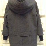Стильное пальто на мальчика, р. 116-122. Фото 3.