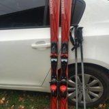 Лыжи горные 151 см. Фото 1.