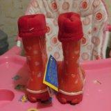 Новые резиновые сапоги. Фото 4.