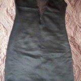 Коктейльное платье со стразами. новое. Фото 3.