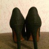 Туфли чёрные. Фото 1.