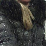 Милая курточка с большущим капюшоном. Фото 3.