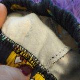 Теплые штанишки(лосины,)на девочку. Фото 2.