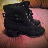 Кожаные осенние ботинки. Фото 2.