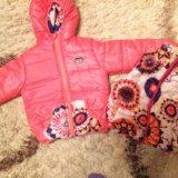Детская куртка+жилетка. Фото 3.