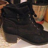 Кожаные осенние ботинки. Фото 3.