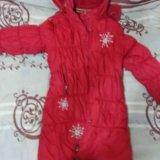 Пальто зимнее kiko. Фото 2.