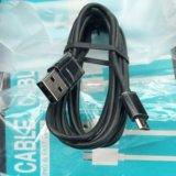 Отличный 2м microusb-кабель orico (до 3а). Фото 2.