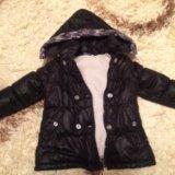 Детская куртка и жилет. Фото 1.