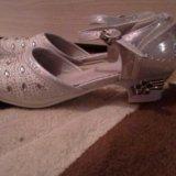 Туфли 36 размер новогодние. Фото 2.