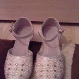 Туфли 36 размер новогодние. Фото 1.