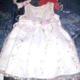Платье нарядное(с повязкой и балеро). Фото 3.