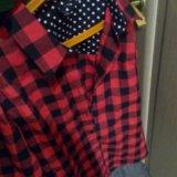 Новая рубашка в клетку. Фото 2. Электросталь.