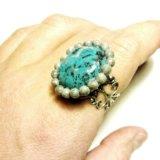 Перстень (кольцо) ручной работы. Фото 2.