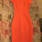 Оранжевое платье. Фото 2.