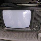 Телевизор винтажный переносной чб юность 406д. Фото 1. Москва.
