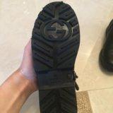 Gucci ботинки оригинал. Фото 2. Москва.
