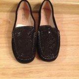Туфли женские натуральная замша. Фото 1.