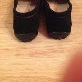 Туфли женские натуральная замша. Фото 3.