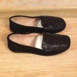 Туфли женские натуральная замша. Фото 4.