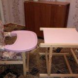 Детский стульчик+столик. Фото 3.