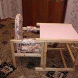 Детский стульчик+столик. Фото 4.