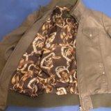 Кожзам куртка. Фото 2.