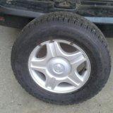 Зимние шипованные колеса goodyear. Фото 1.