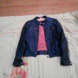 Кожанная куртка mexx. Фото 1.