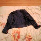 Кожанная куртка mexx. Фото 3.