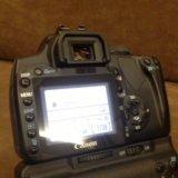 Canon 400 kit плюс bg-e3 рукоять и много допов. Фото 3.