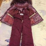 Зимний костюм на девочку. Фото 2.