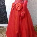Бальное платье+перчатки. Фото 2. Пермь.