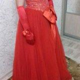 Бальное платье+перчатки. Фото 3. Пермь.